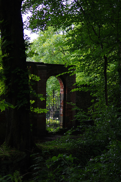Manor Park old gate