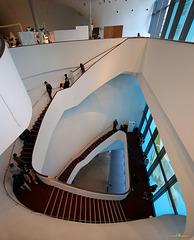 Treppenhaus im Opernhaus /  Theater von Taichung (PiP)