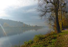 Herbst im Elbtal bei Pirna - aŭtuno en Elbvalo ĉe Pirna