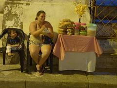 Vendedora de Cartagena deIndias