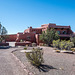 A visitor centre at the painted desert