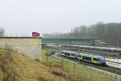 X73723 Besançon Franche Comté TGV