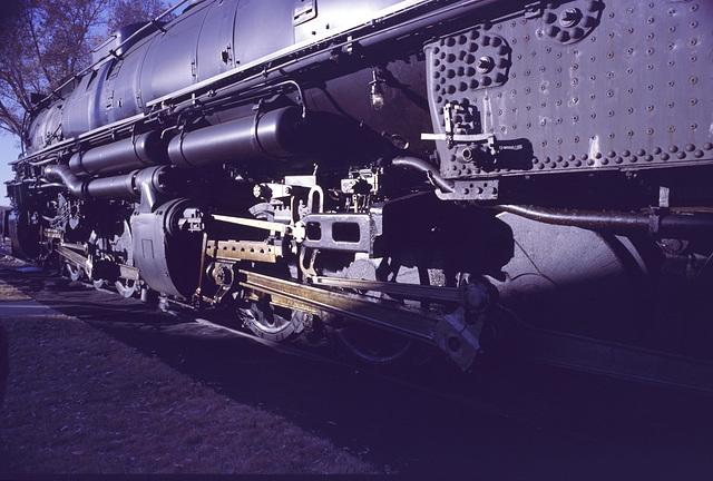 """Union Pacific 4014, 4-8-8-4 """"Big Boy"""" - largest steam locomotive ever built."""