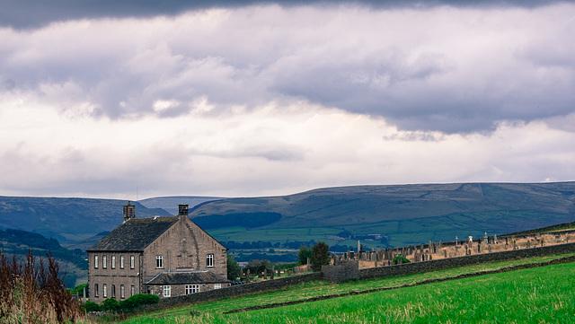 Top Chapel under grey skies