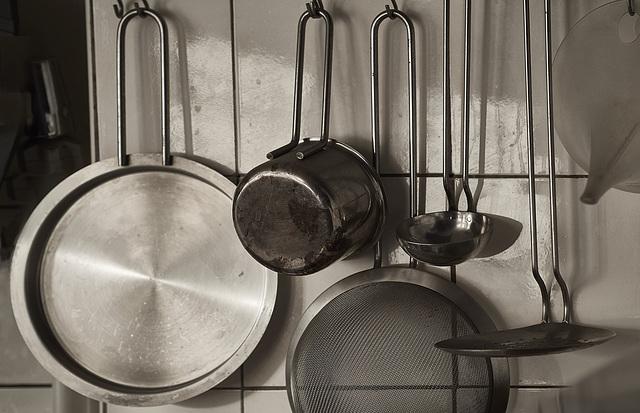 Just kitchen utensils