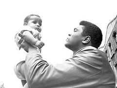 Muhammad Ali kun bebo