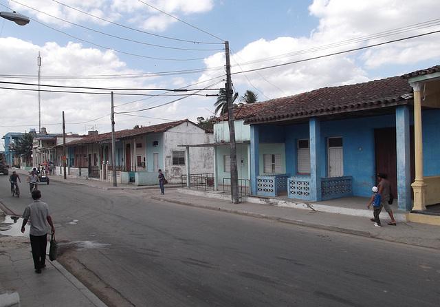 Scène quotidienne de la vie cubaine