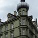 Haus mit Zwiebelturm