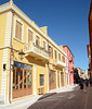 Albania, Old Town of Vlorë, Justin Godar Street