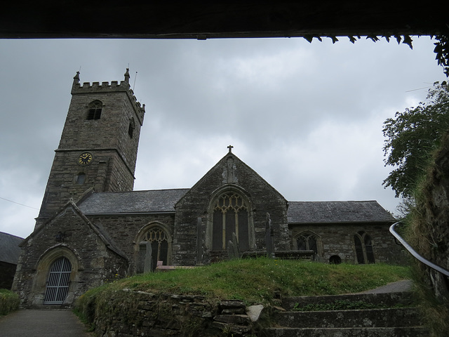 meavy church, devon