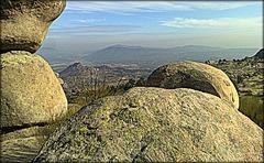 La Cabrera, granite