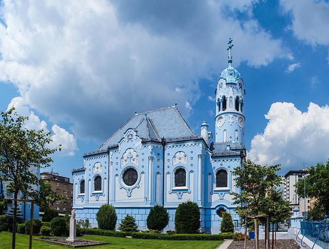 Die Blaue Kirche der Hl. Elisabeth