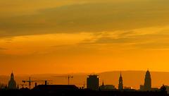 Dresden im Morgenrot