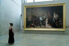 """""""L'atelier du peintre"""" (Gustave Courbet - 1855)"""