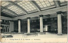 WP1973 WPG - SITTING ROOM - C.P.R. STATION