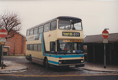 Whippet Coaches H303 CAV at Mildenhall - 29 Dec 1996