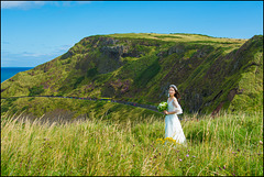The Bride At Giant's Causeway