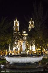 Die Kathedrale San Gervasio in Valladolid, Mexico