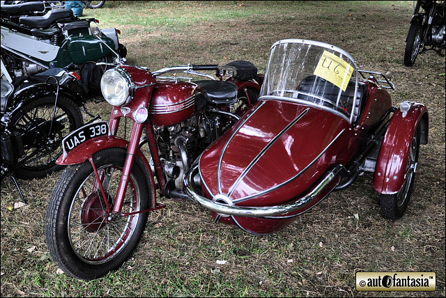 1950 Triumph Thunderbird - UAS 338