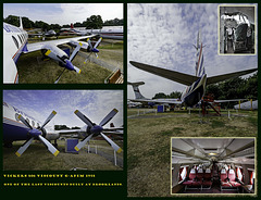 Vickers 806 Viscount G-APIM 1958 one of the last Viscounts built at Brooklands.