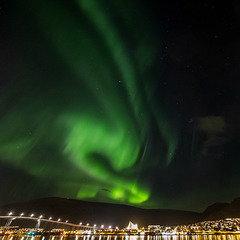 Lights over Tromsø