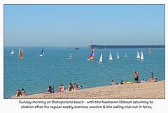Sunday on Bishopstone beach 23 5 10