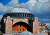 Die Kuppel der Aya Sofya