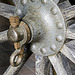 Gun carriage wheel hub