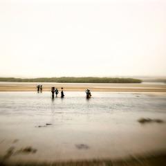 Retour de pêche dans la lagune