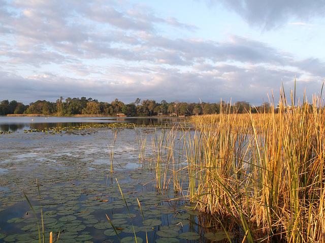 Moment de méditation sur le Lac Cécile.