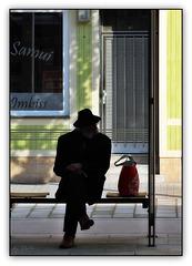 Wartebank - Waiting bench