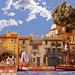 VILLAGE DE PROVENCE sur un air de MUSIQUE  PROVENCALE (1) LA FARANDOLE DI TARASCAIRE