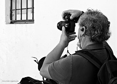 the photographer and the window