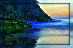 Playa Arriatera de noche