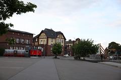 Bahnhof Burg die Voderseite