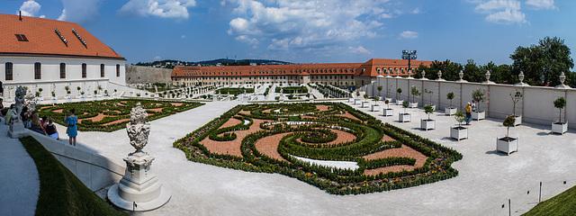 Barockgarten der Burg