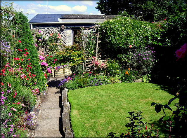 Saint Day garden.