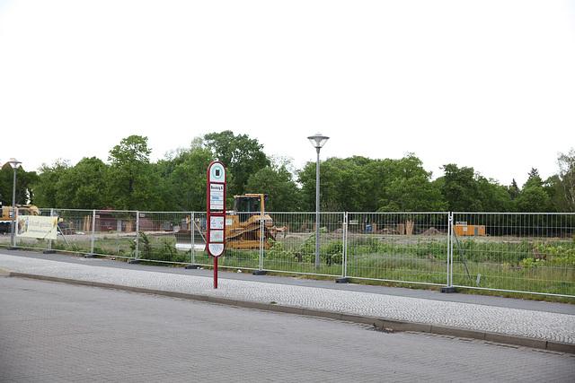 Goethepark in der Nähe des Bahnhofs