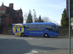 DSCF8790 Freestones Coaches (Megabus contractor) YN08 JBX in Cambridge - 10 Apr 2015