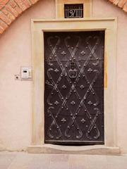 Door - access to belfry.