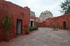 Peru, Arequipa, Santa Catalina Monastery, Calle Granada