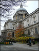 St Paul's in autumn