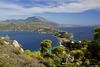Lake Vouliagmeni and Gulf of Corinth