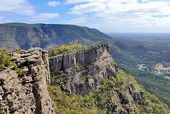 P1260819- Panorama du sommet, Rando Pinnacle lookout - Les Grampians.  02 mars 2020