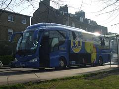 DSCF8784 Freestones Coaches (Megabus contractor) YN08 JBX in Cambridge - 10 Apr 2015