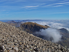 A view from on high ~ From the Summit of Ben Nevis