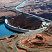 The Glen Canyon Dam from the Air 19th September 2011