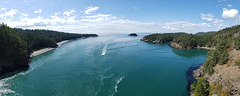 Home from our Trip! This is Deception Pass, Washington