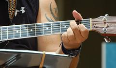 Dennis Kamakahi's Hands on Guitar