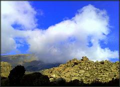 Cloud and granite